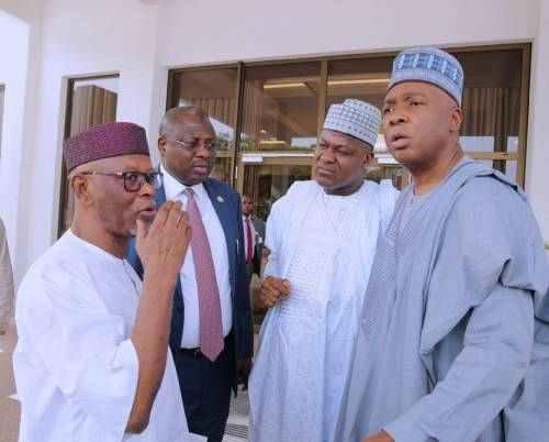 Saraki And Dogara Sabotaged Nigeria's Growth Through Budget Padding - Tinubu 2