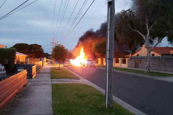 Sad! Plane Crash In Australia Kills Pilot Instantly 3