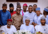 President Buhari Hosts Celebs In State House - Here's What Went Down In Pics! KOKO TV NG5