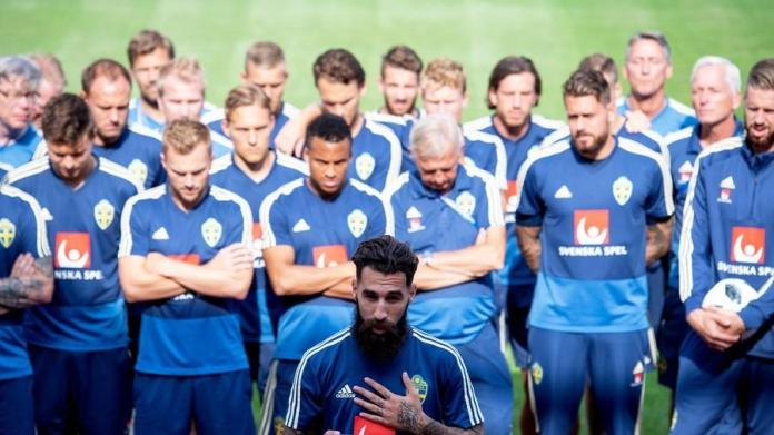 """F*** Racism"" - Swedish National Team React After Death Threats Were Issued To A Teammate 1"