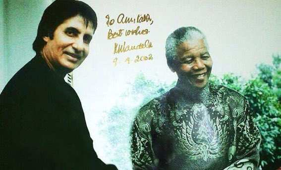"""""""I Hope You Remember Me?"""" - Amitabh Bachchan Shares Experience With Mandela 1"""