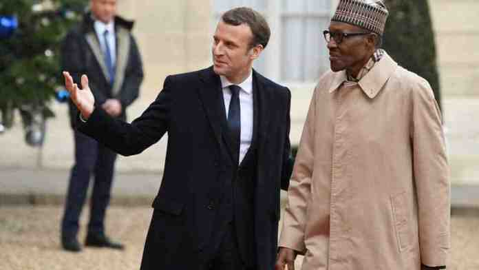 """We Can't Solve Nigeria's Insecurity Problem"" - President Macron Replies Buhari 1"