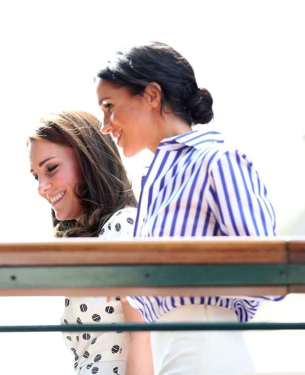 Meghan Markle And Kate Middleton To Attend Serena Williams Wimbledon Ladies Final Together 2