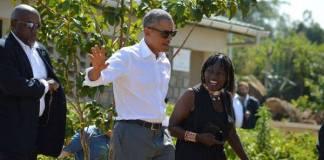 Obama in Kogelo koko tv ng