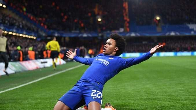 Chelsea Winger Willian Desperate To See His Teammate Eden Hazard Remain At Chelsea 2
