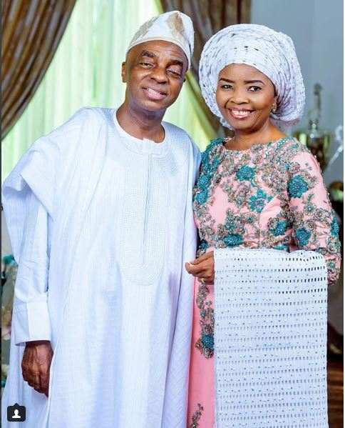 David Oyedepo and Wife Faith Oyedepo