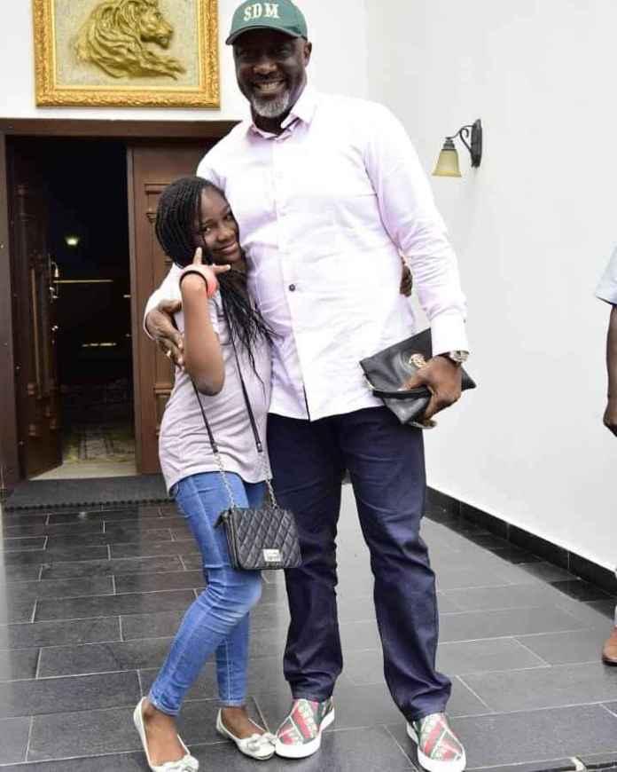 Senator Dino Melaye Shares Adorable Photo Of His Daughter, Ruth Gbotemi Melaye