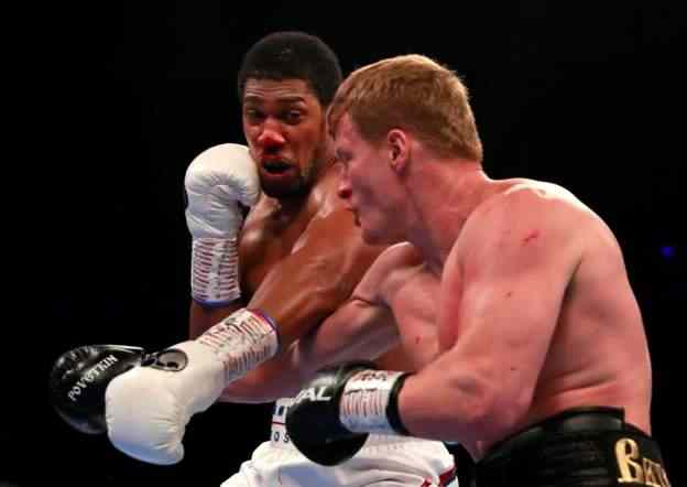 Iconic!Anthony Joshua Set To Fight Jarrell Miller At NYC'sMadison Square Garden - Eddie Hearn 1