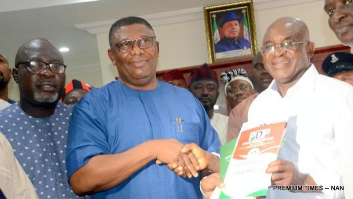 Revealed! This Is The Reason David Mark Joined The 2019 Presidential Race 1