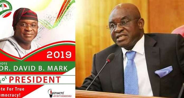Revealed! This Is The Reason David Mark Joined The 2019 Presidential Race 2
