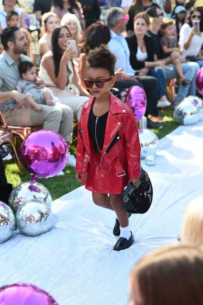 KOKO Junior: North West Makes Her Runway Debut For L.O.L Fashion 1