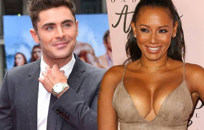 Night of Passion! Mel B, 43, Hooked Up With Zac Efron, 30 1