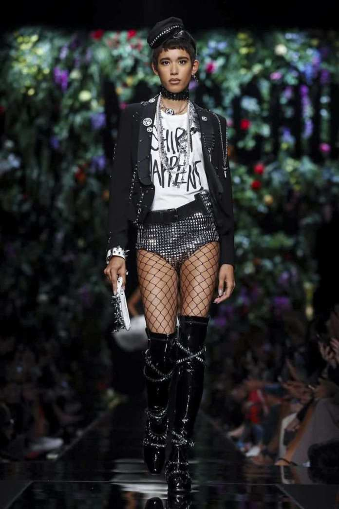 Moschino Ready To Wear Spring/Summer 2018 At The Milan Fashion Week 3