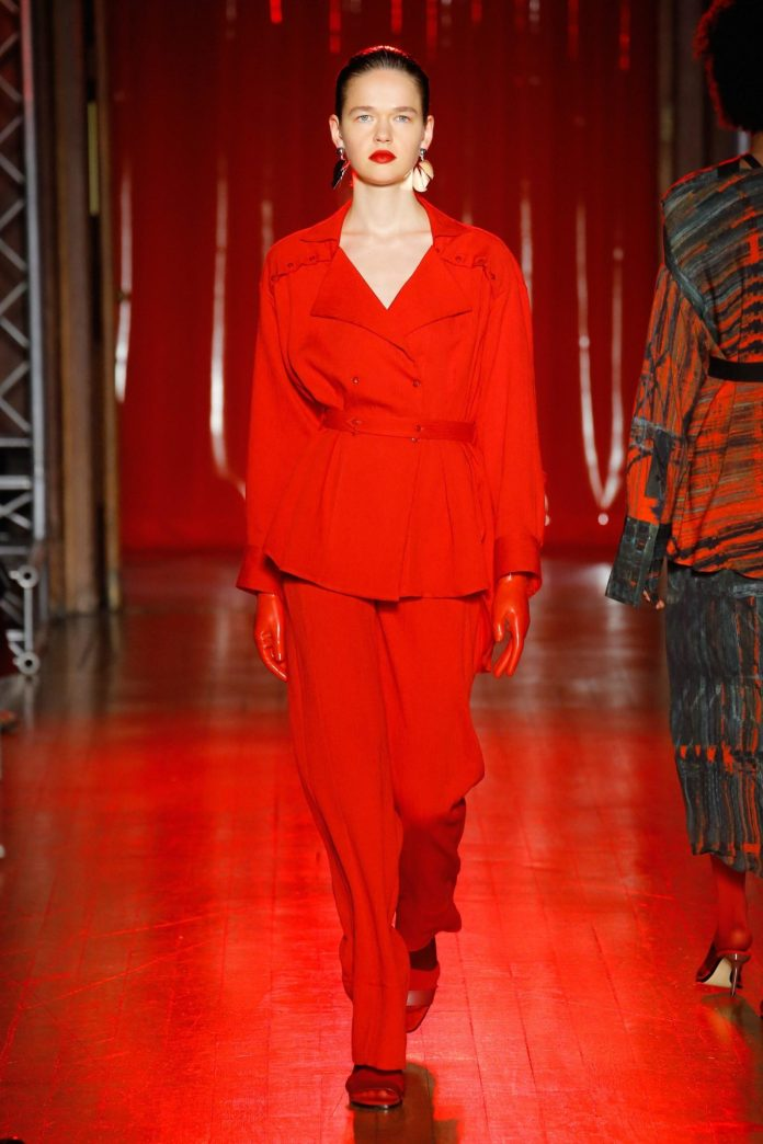 Palmer Harding Spring Summer 2019 Collection At The LFW 10