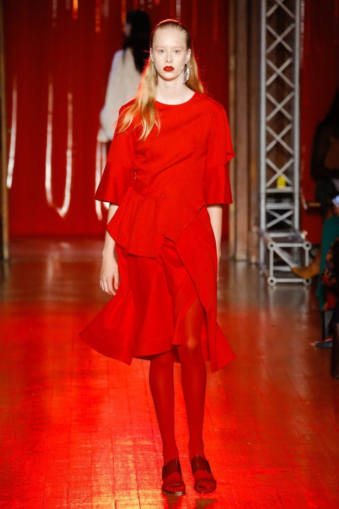 Palmer Harding Spring Summer 2019 Collection At The LFW 22