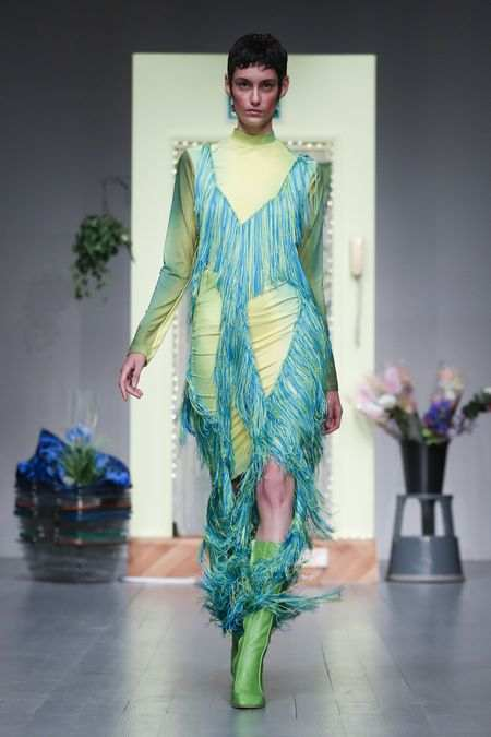 LFW: Richard Malone Spring Summer 2019 Collection 11