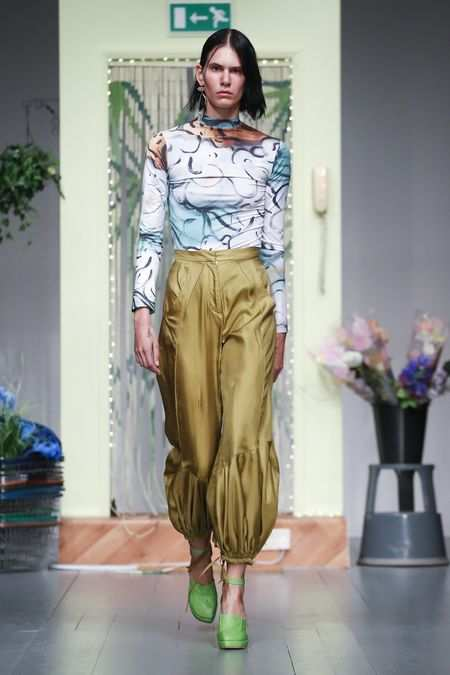 LFW: Richard Malone Spring Summer 2019 Collection 20