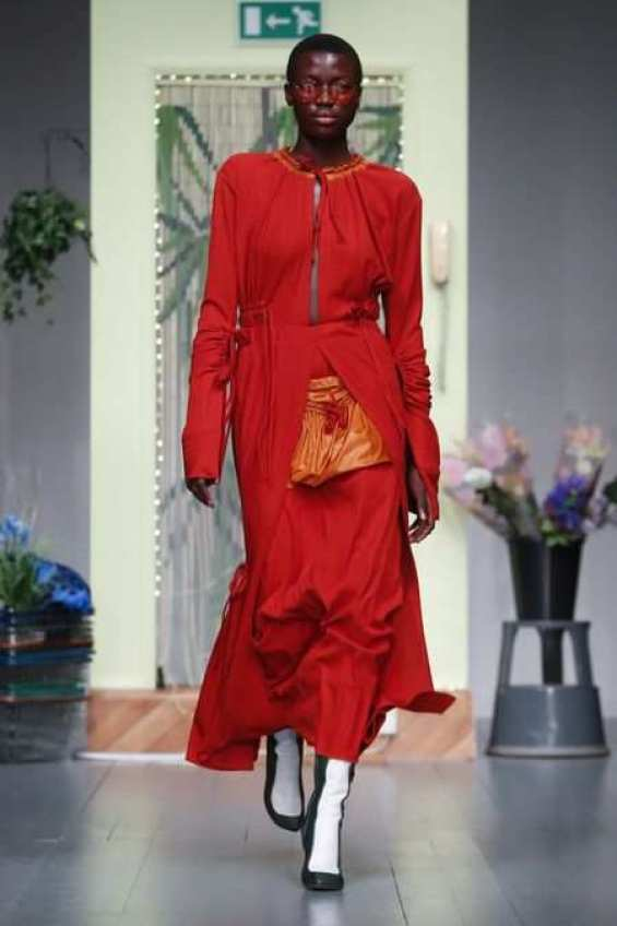 LFW: Richard Malone Spring Summer 2019 Collection 1