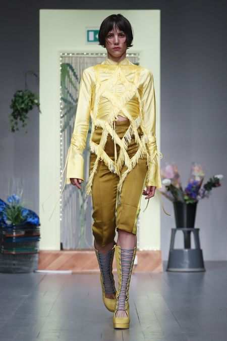 LFW: Richard Malone Spring Summer 2019 Collection 10