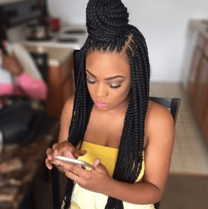 Hair DIY: 9 Easy Ways To Style Your Twisted Braids 7