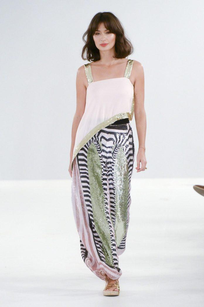 Bohemian! Temperley London Spring 2019 Collection At London Fashion Week 10