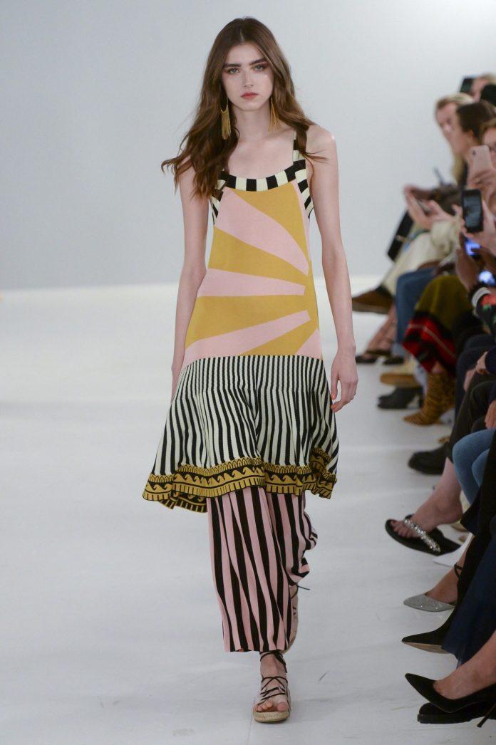 Bohemian! Temperley London Spring 2019 Collection At London Fashion Week 2