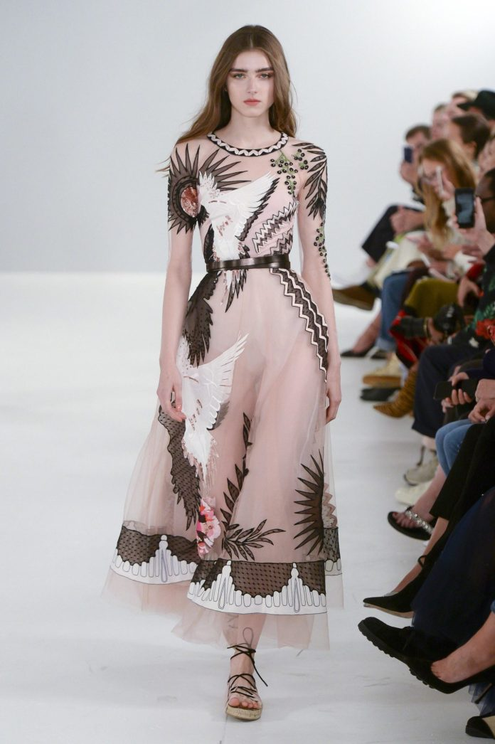 Bohemian! Temperley London Spring 2019 Collection At London Fashion Week 30