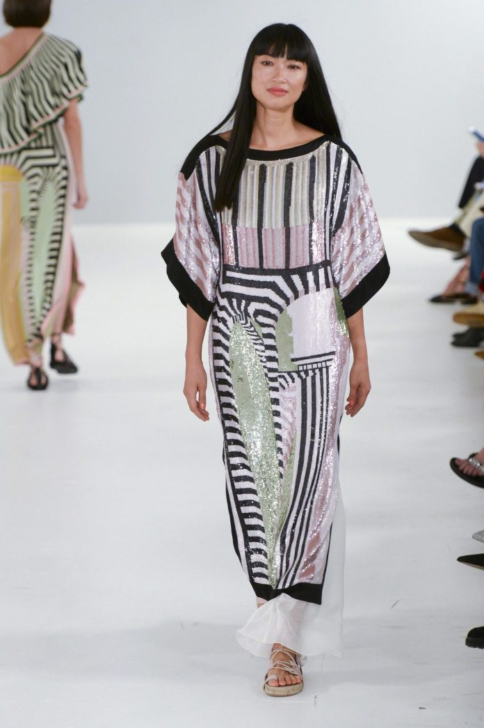 Bohemian! Temperley London Spring 2019 Collection At London Fashion Week 6