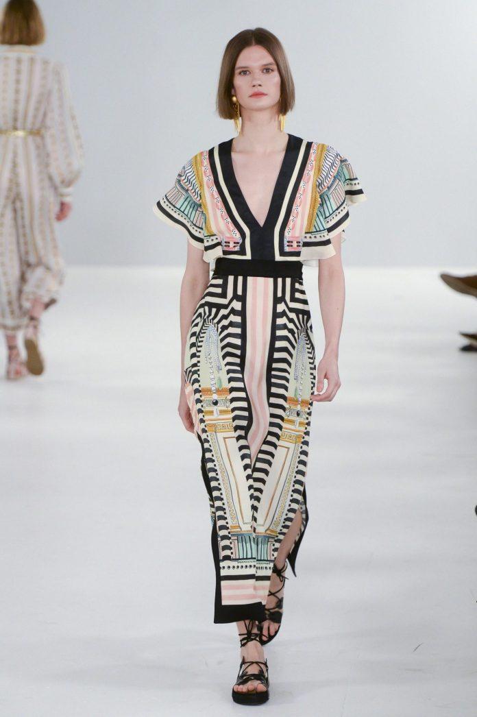 Bohemian! Temperley London Spring 2019 Collection At London Fashion Week 8