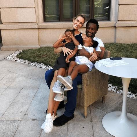 So Sweet! Mikel Obi's Baby Mama, Olga Diyachenko Serenades Him With Sweet Words On His 32nd Birthday 1