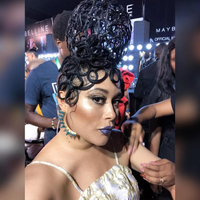 Adunni Ade Debuts New Hairstyle At Lagos Fashion Week 3