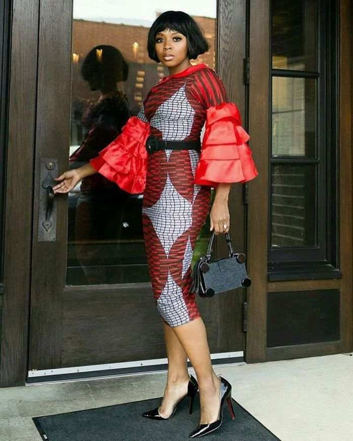 Ankara Style: Bell Sleeves That Will Give A Total Spice To Your Outfit 4
