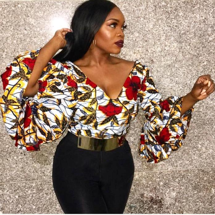 Ankara Styles: Fantastic Tops And Jackets To Achieve A Chic Look 1