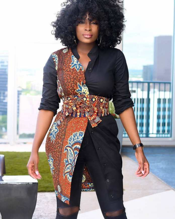 Ankara Styles: Fantastic Tops And Jackets To Achieve A Chic Look 4