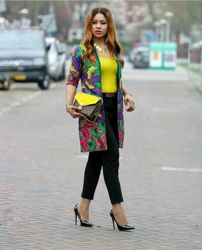 Ankara Styles: Fantastic Tops And Jackets To Achieve A Chic Look 6