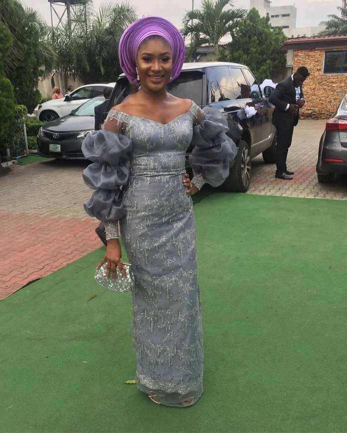 Aso Ebi Style: Gorgeous Styles That Caught Our Attention This Weekend 4