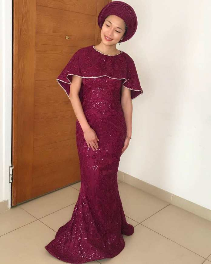 Aso Ebi Style: Latest Spontaneous Aso Ebi Styles You Need To See 5