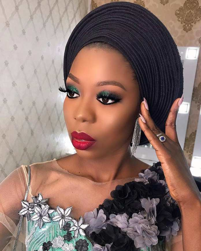 Aso Ebi Style: Stunning Makeup And Gele Styles To Compliment Your Aso Ebi 1