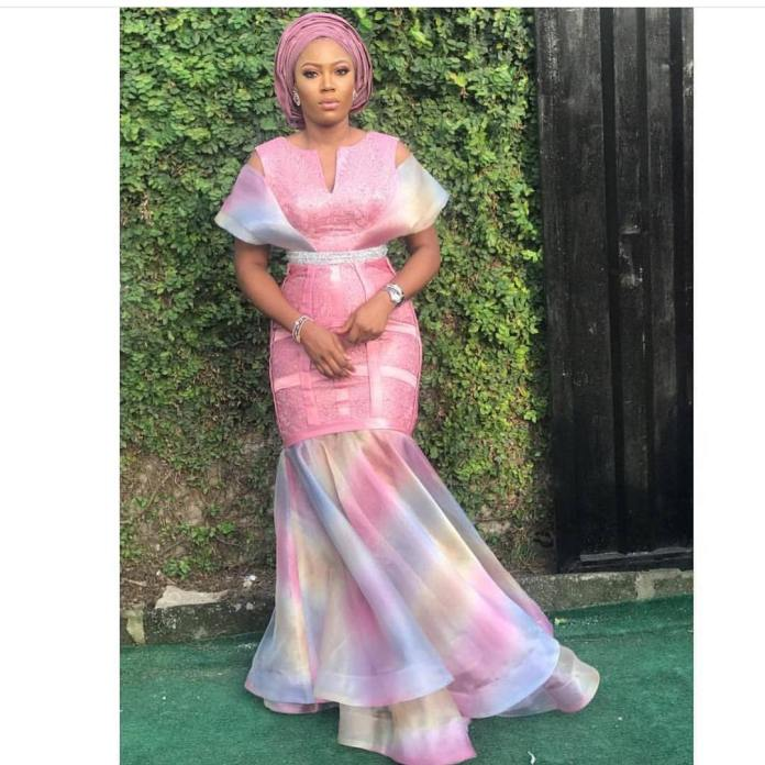 Aso Ebi Style: Channel Your Inner Goddess In These Fanciful Styles 6