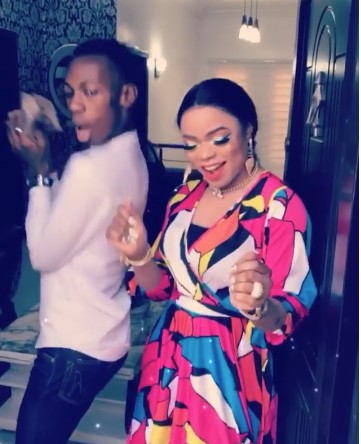 Bobrisky Finally Meets James Obialor Of 'They Didn't Caught Me', Gives Him N100k He Promised 1