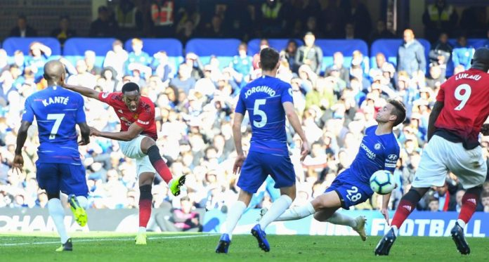 Chelsea 2 Manchester United 2: Ross Barkley Scores 96th Minute Equaliser To Cancel Out Anthony Martial's Double 2