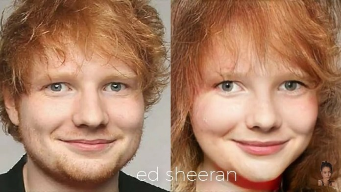 Funny Photos Of How Your Favorite American Male Musicians Would Look Like If They Were Women 1