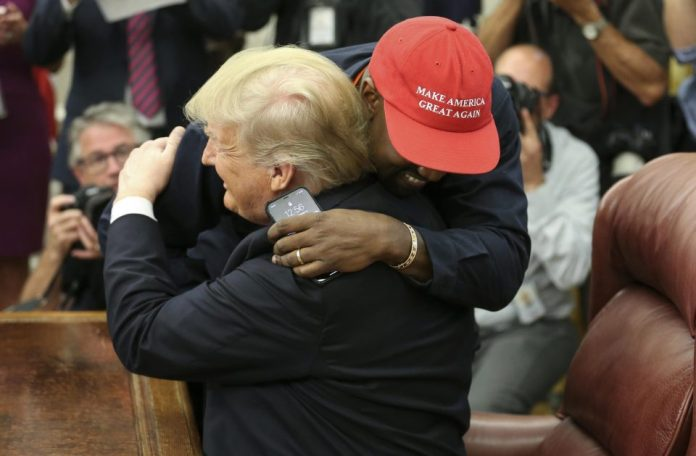 My Eyes Are Now Wide Open! Kanye West Quits Politics Over Donald Trump Immigration Policy 4