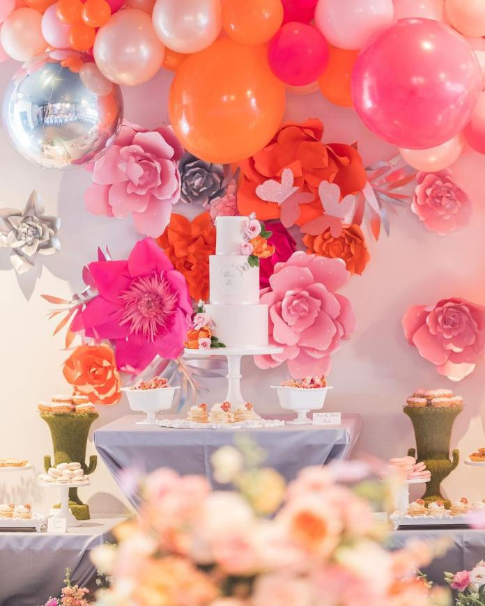 The Insider: Adorable Photos From LeToya Luckett-Walker's Butterfly Themed Baby Shower 8