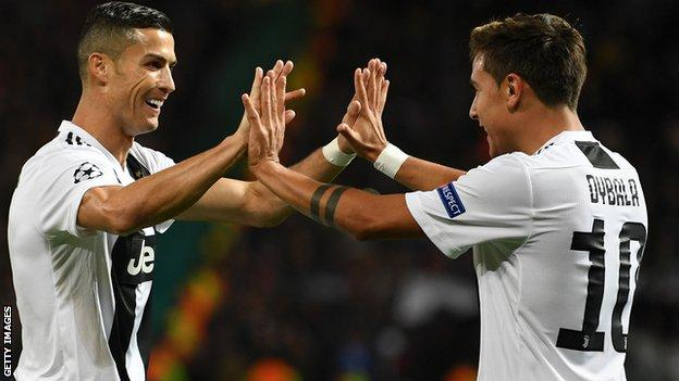 Cristiano Ronaldo And Paulo Dybala Combine As Juventus Outclass Manchester United At Old Trafford 2