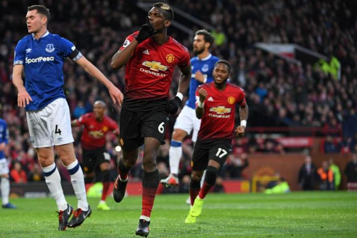 Manchester United 2 Everton 1: Pogba & Martial Score As Red Devils Win At Old Trafford 2