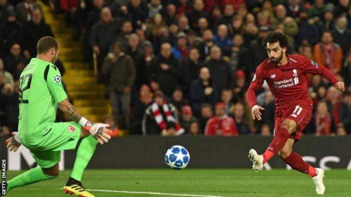 Liverpool 4 Red Star Belgrade 0: Mo Salah Sublime Double Helps Liverpool Win Over Serbians 1
