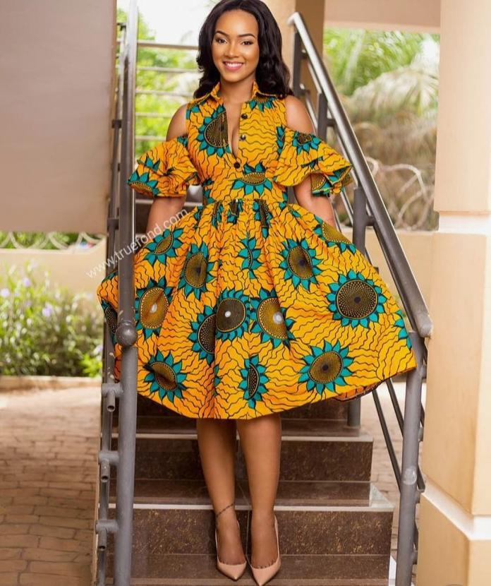 Ankara Styles: Modern Styles To Start Your Week With 2
