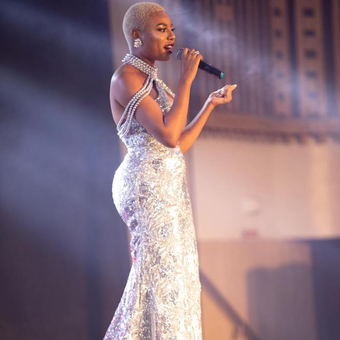 Celebrity Beauty Of The Day: Nancy Isime Oozes Perfection In Lovely Shimmery Gown 1