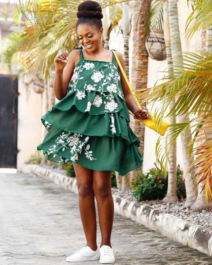 Proudly Nigerian! Omoni Oboli Celebrates Independence Day With Stunning New Photo 1